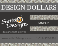 Suite10Designs Design Dollars